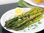 Roasted Garli Asparagus with Lemon Other vegetable options available upon request
