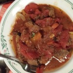 Beef and Peppers Stew